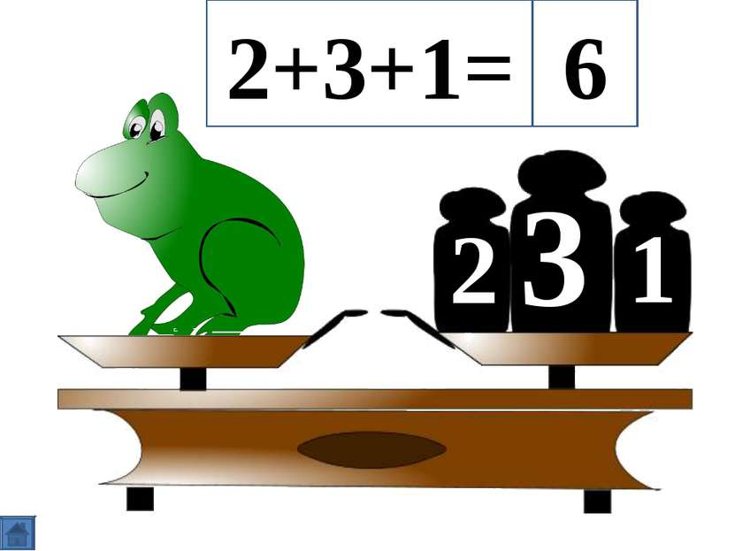 3 2 1 2+3+1= 6