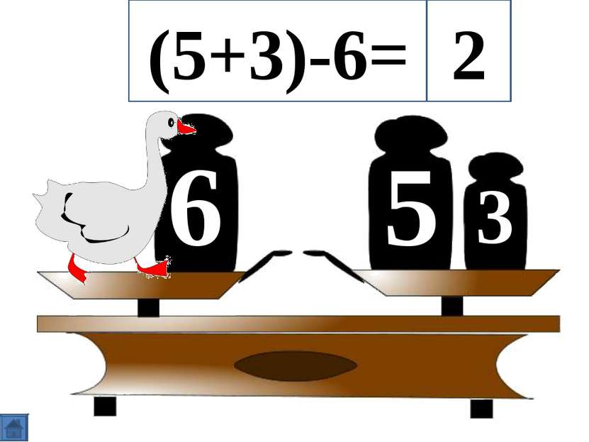 5 6 3 (5+3)-6= 2
