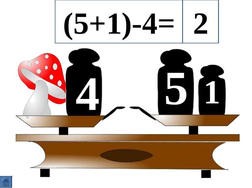 5 4 1 (5+1)-4= 2