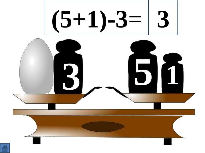 5 3 1 (5+1)-3= 3