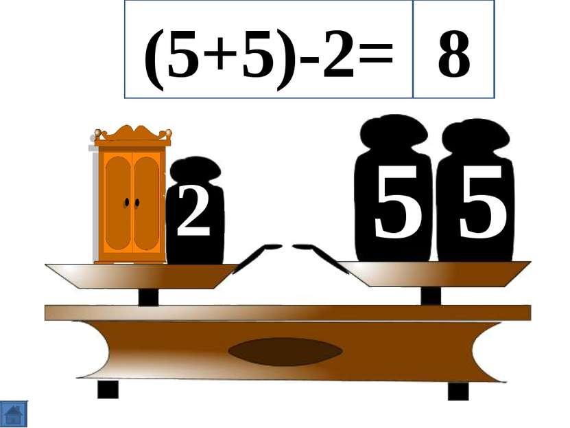 5 5 2 (5+5)-2= 8