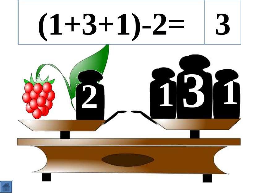 3 1 1 2 (1+3+1)-2= 3