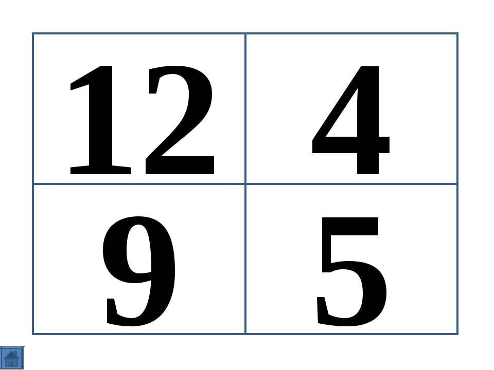 12 9 5 4