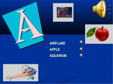 AIRPLANE APPLE AQUARIUM