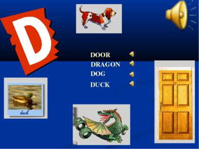 DOG DRAGON DUCK DOOR