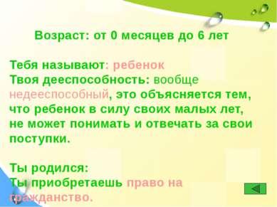 Использованы ресурсы: Конвенция о правах ребенка http://www.pravadetey.ru/ind...