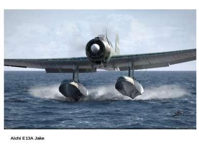 Aichi E13A Jake