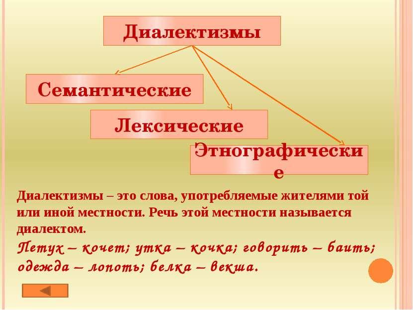 Жаргонизмы – слова, использующиеся в речи определенной социальной группой люд...