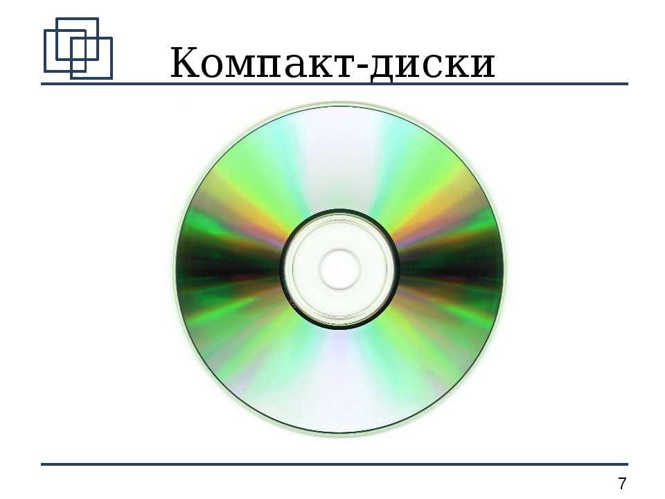 Компакт-диски *