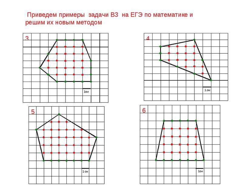Приведем примеры задачи B3 на ЕГЭ по математике и решим их новым методом