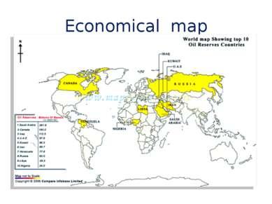 Economical map