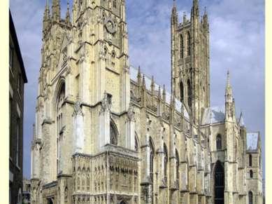 Кентерберийский собор— главный англиканский храм Великобритании. Здесь распо...