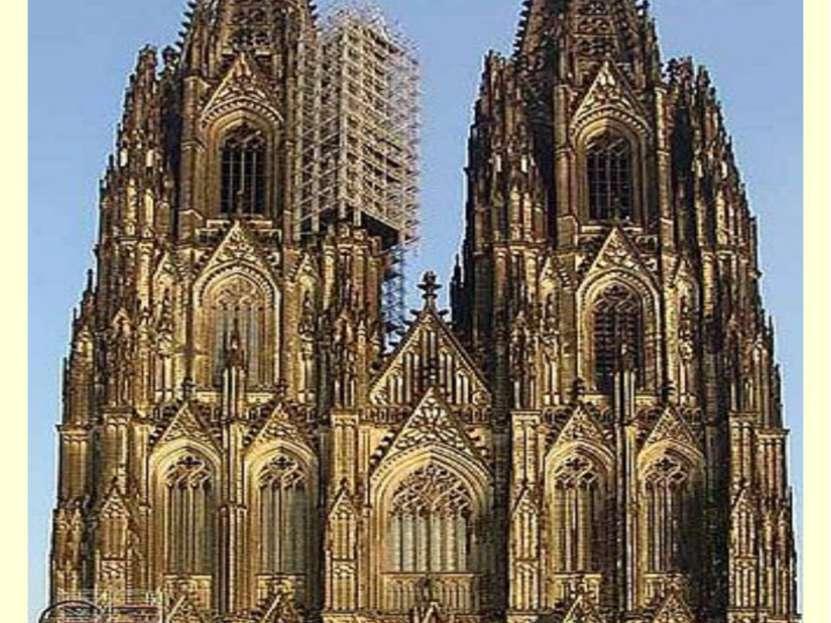 Кёльнский собор (нем. Kölner Dom) — готический собор в Кёльне (Германия), объ...