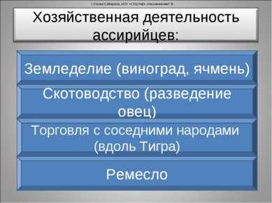 г.Усолье-Сибирское, МОУ «СОШ №2», Масленникова Г.В. Земледелие (виноград, ячм...