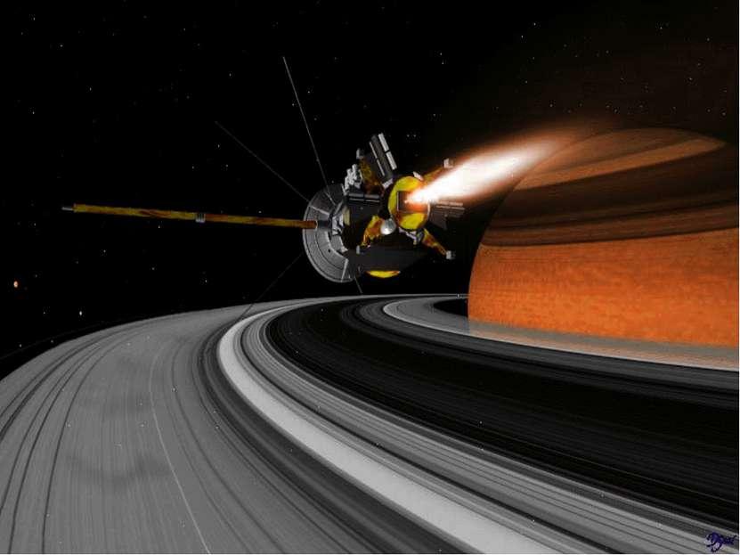 1838г И. Г. Галле Открывает внутреннее кольцо Сатурна (кольцо С в кольце В). ...