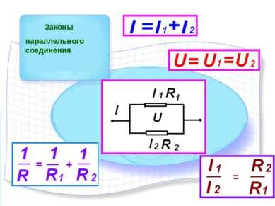 Законы параллельного соединения