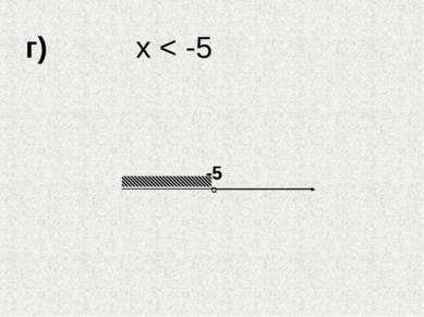 г) х < -5