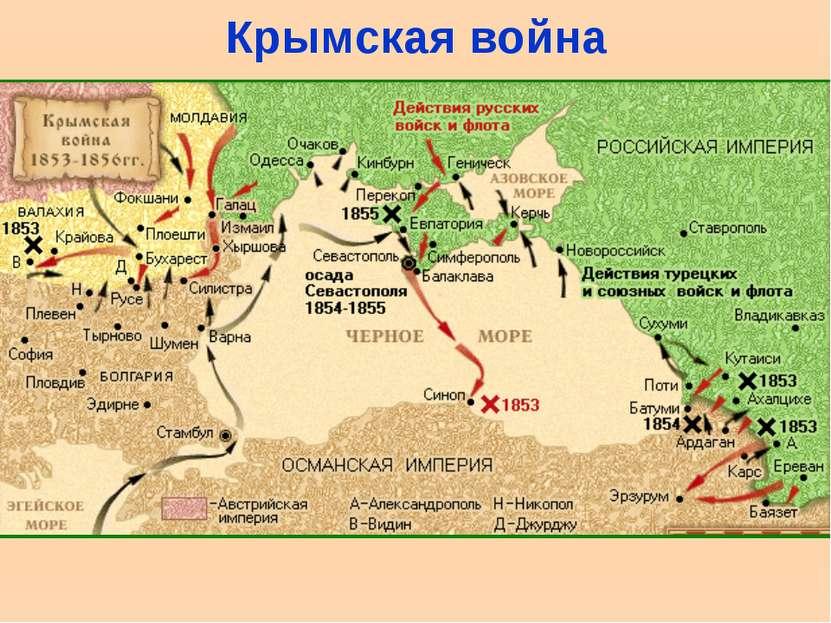 Крымская война Подписание Эрфуртского договора