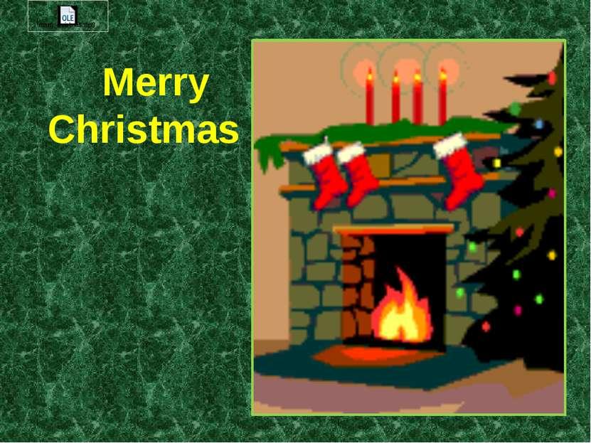 Merry Christmas !