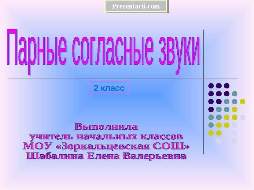 2 класс Prezentacii.com