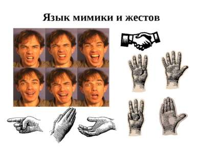 Язык мимики и жестов