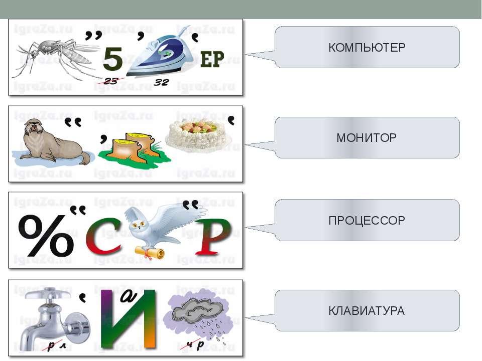 КОМПЬЮТЕР МОНИТОР ПРОЦЕССОР КЛАВИАТУРА