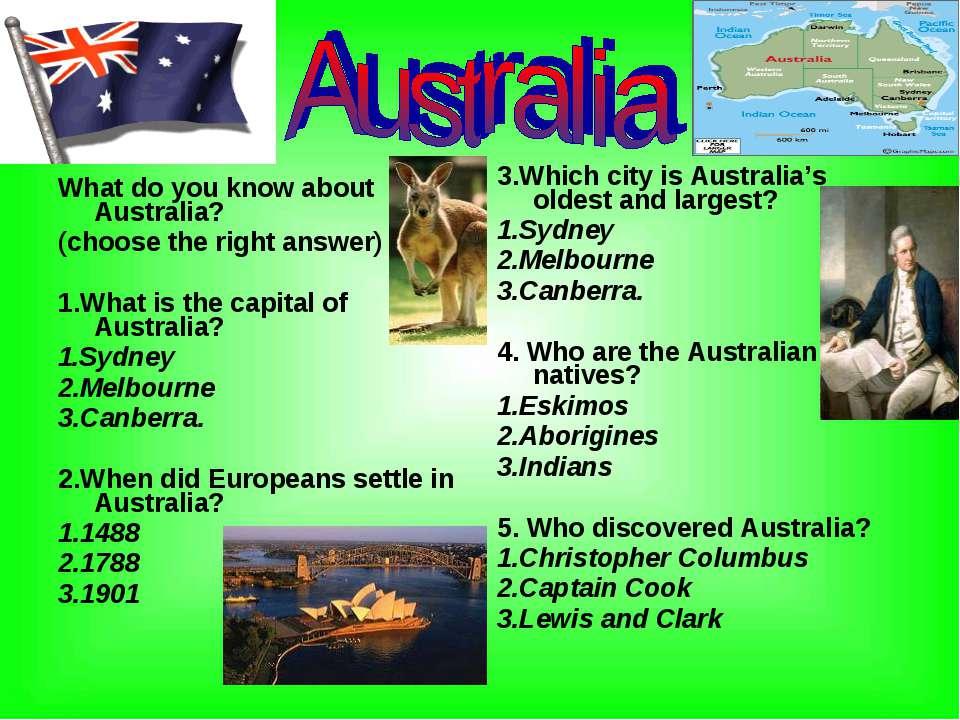 european settlement in australia provided the