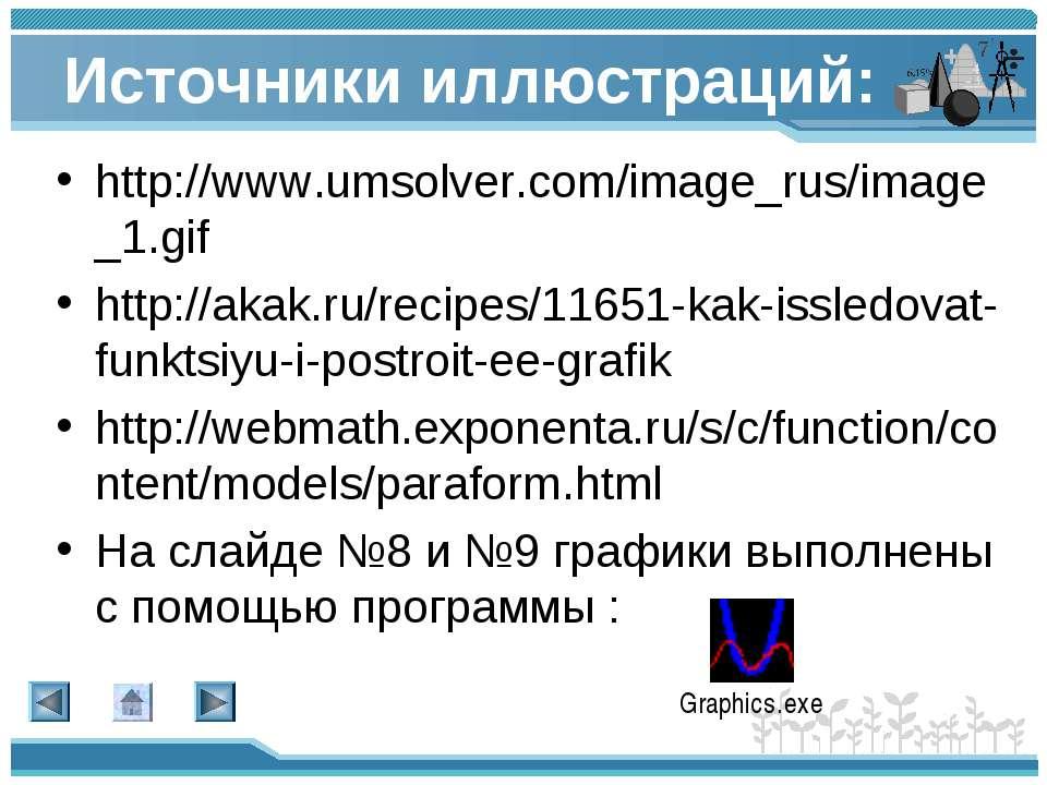 Источники иллюстраций: http://www.umsolver.com/image_rus/image_1.gif http://a...