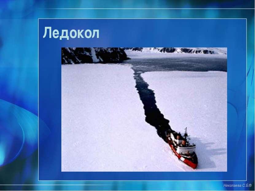 Ледокол Николаева С.Б.®