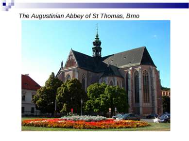 The Augustinian Abbey of St Thomas, Brno