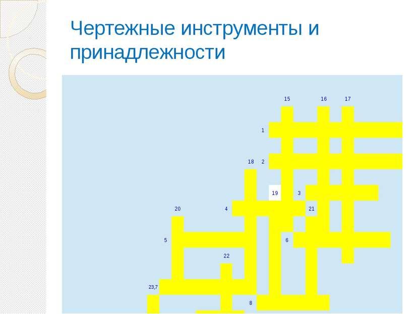 Чертежные инструменты и принадлежности 15 16 17    1           ...