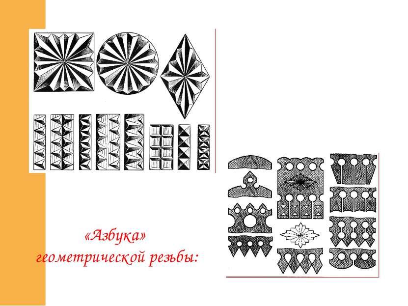 «Азбука» геометрической резьбы: