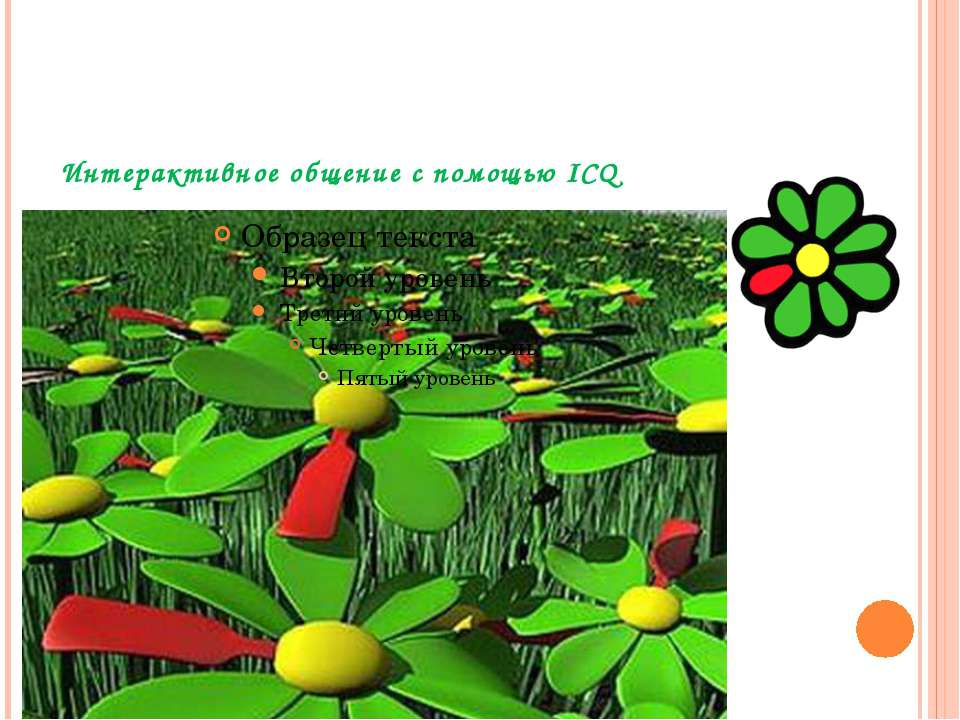 Интерактивное общение с помощью ICQ