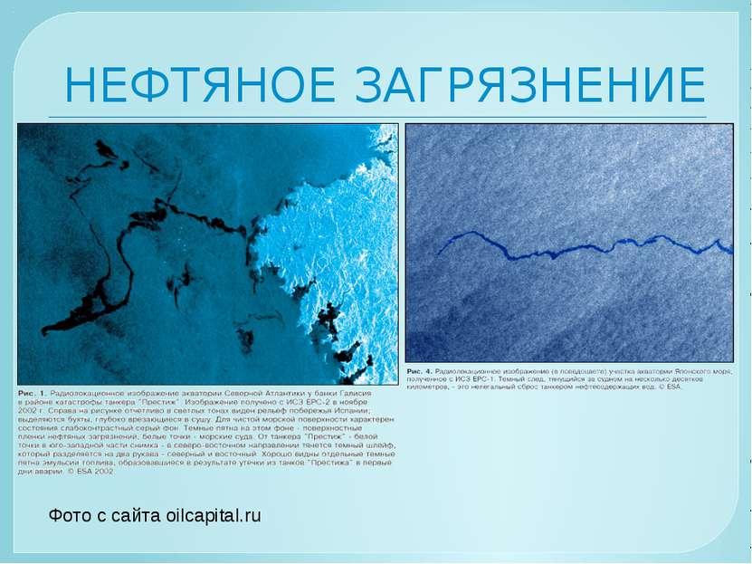 НЕФТЯНОЕ ЗАГРЯЗНЕНИЕ Фото с сайта oilcapital.ru