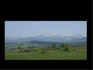 Вид на гору Зеленую летом