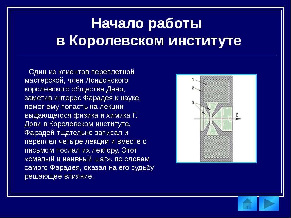 Закон электромагнитной индукции. Электролиз В 1830, несмотря на стесненное ма...