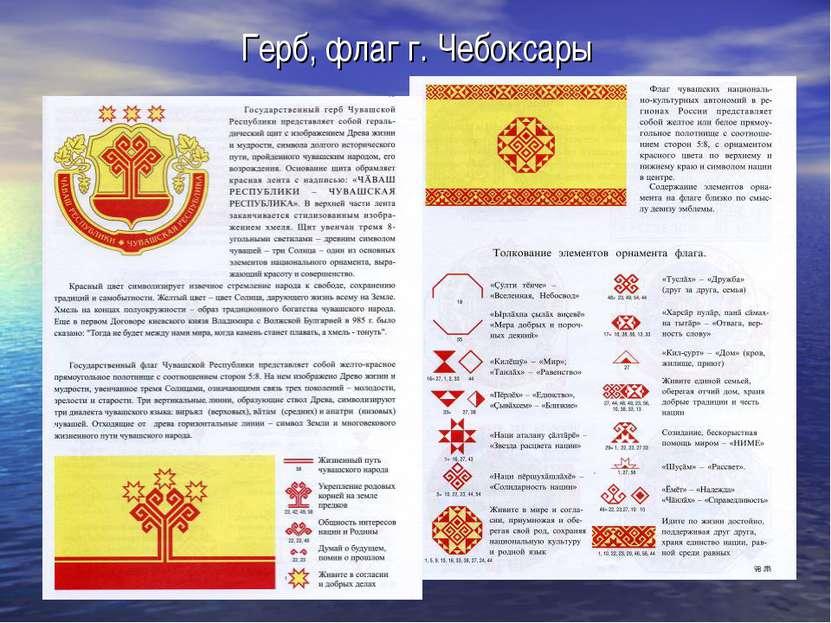 Герб, флаг г. Чебоксары