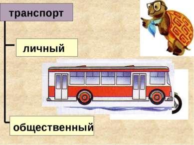 транспорт личный общественный