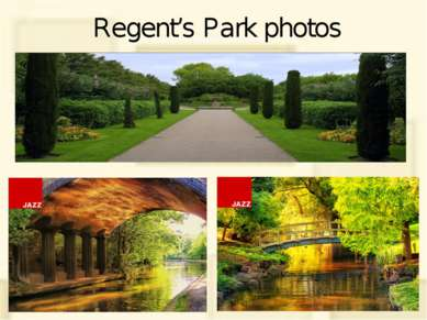 Regent's Park photos