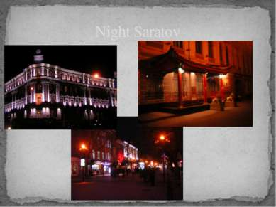 Night Saratov