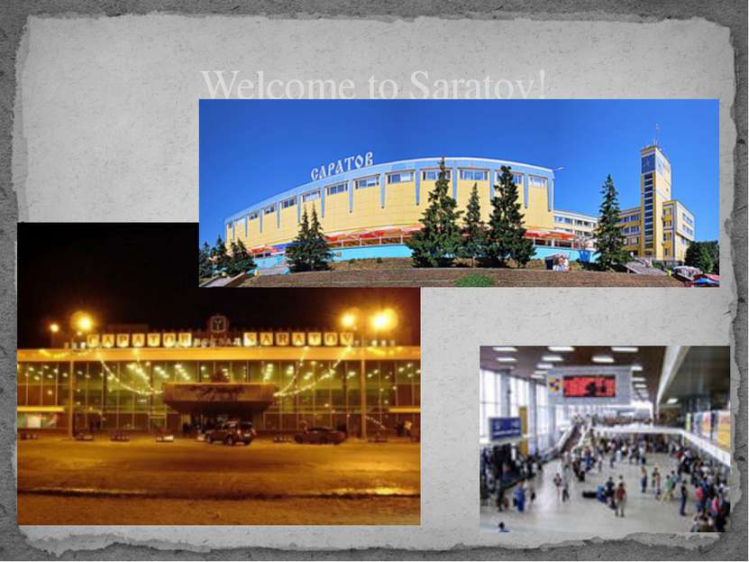 Welcome to Saratov!