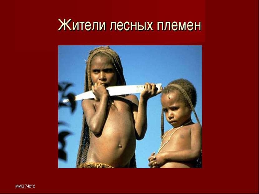 ММЦ 74212 Жители лесных племен