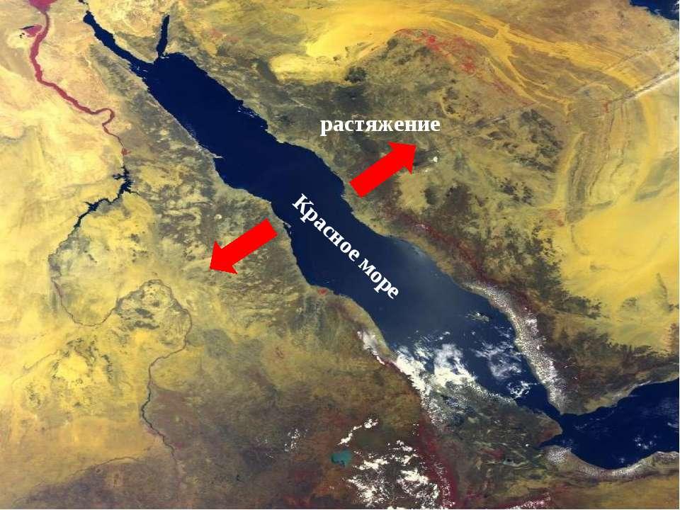 Красное море растяжение