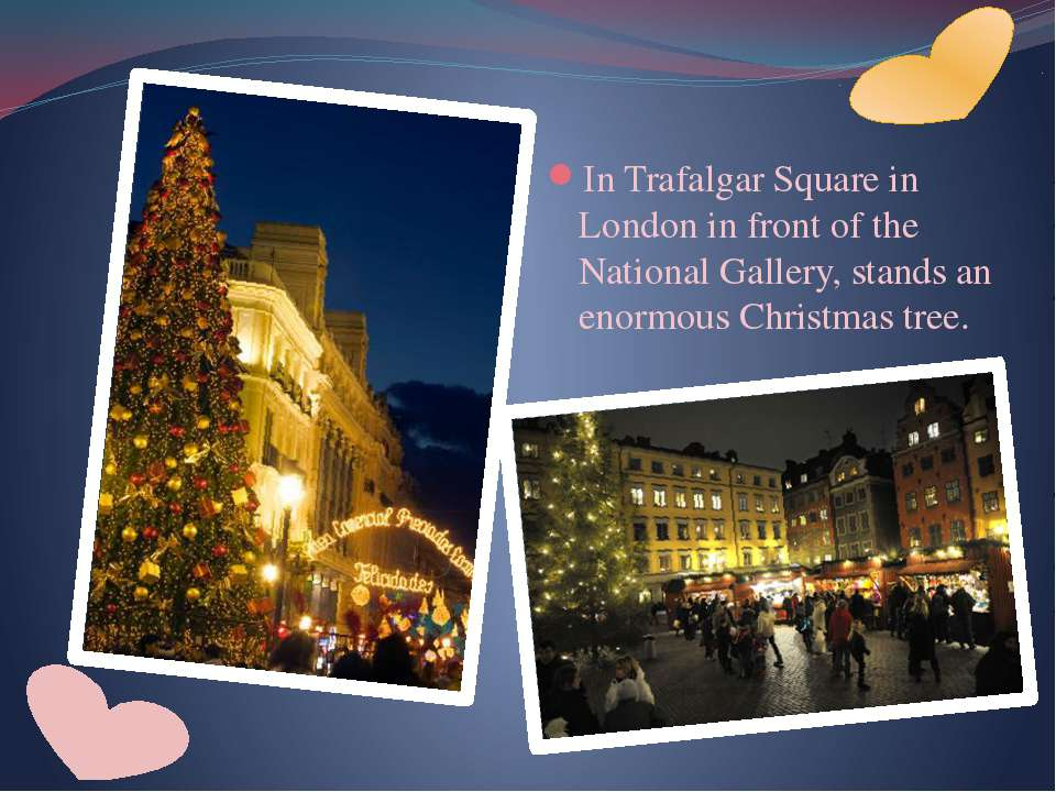 In Trafalgar Square in London in front of the National Gallery, stands an eno...