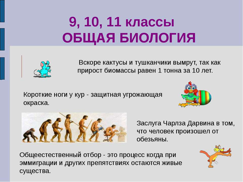 Заслуга Чарлза Дарвина в том, что человек произошел от обезьяны. 9, 10, 11 кл...