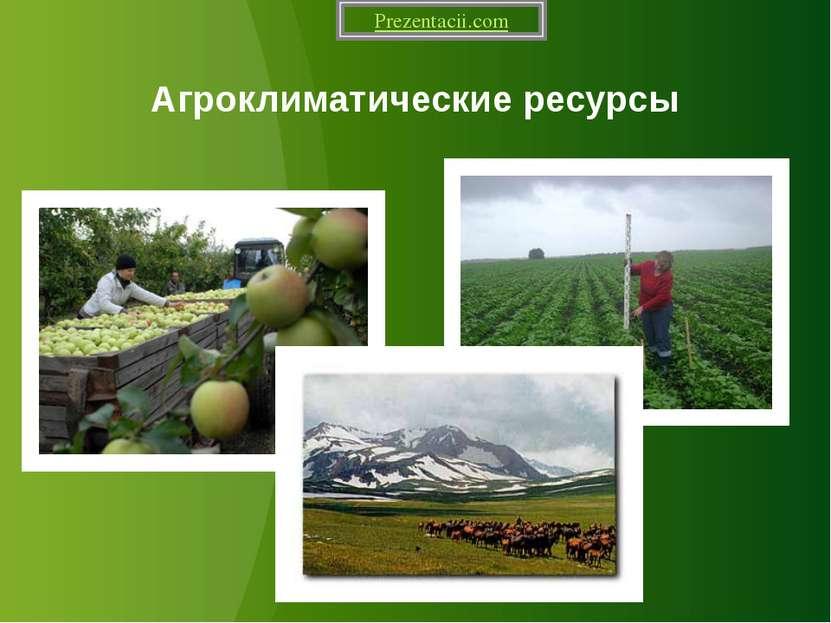 Агроклиматические ресурсы Prezentacii.com