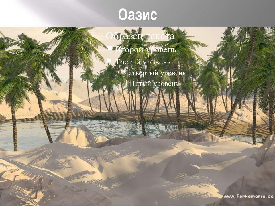 Оазис
