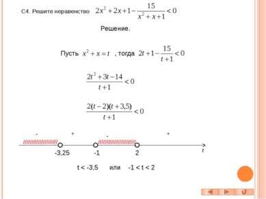 1) 2) решений нет; Ответ: ( - 2; 1)