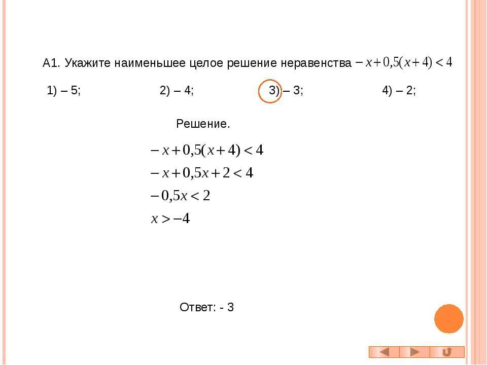 B1. Найдите количество целочисленных решений неравенства Решение. Так как при...