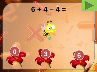 6 + 4 – 4 = 0 3 6 Ekaterina050466